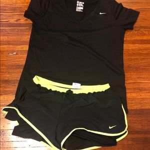 Nike Tee and Short Outfit